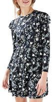 Topshop PETITE Blossom Frill Dress