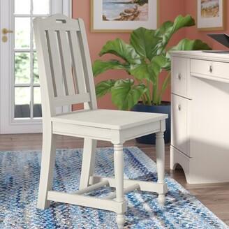 Three Posts Morpeth Desk Chair Finish: Distressed Eggshell White