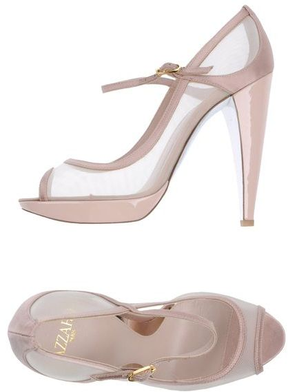Azzaro Pumps with open toe