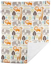 Poppi Living Safari Animals Stroller Blanket