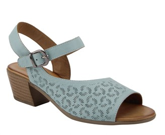 Spring Step Leather Sandals - Delia