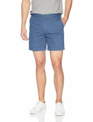 "Amazon Essentials Slim-fit 7"" Short Blue W31''"