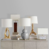 AERIN Beecher Table Lamp, Mother of Pearl, Wide