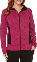 Made For Life Made for Life Long Sleeve Zip Front Hooded Jacket-Talls