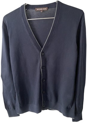 Michael Kors Navy Cotton Knitwear & Sweatshirts