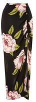 Topshop Women's Bold Bloom Maxi Skirt