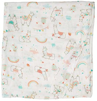 Loulou Lollipop Muslin Swaddle (Llama) Accessories Travel