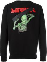 Off-White Mirror Skull sweatshirt - men - Cotton - L