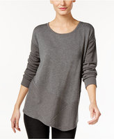 Style&Co. Style & Co. Ribbed Asymmetrical Top, Only at Macy's