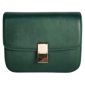 Celine Classic Green Leather Handbags