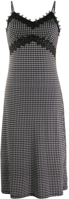 MICHAEL Michael Kors Check Print Dress