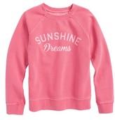 Billabong Girl's Whole Heart Graphic Sweatshirt
