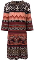 Etro patterned mid-length dress - women - Spandex/Elastane/Viscose - 46