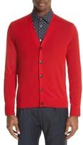 Paul Smith Men's Merino Wool Cardigan