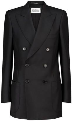 Maison Margiela Double-breasted wool blazer