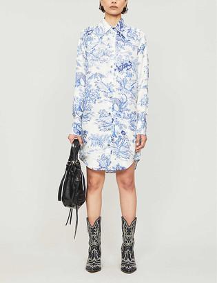 Zadig & Voltaire Rais graphic-print silk midi dress