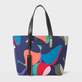 Paul Smith Women's 'Marble' Print Canvas Tote Bag