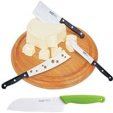 Berghoff 5-pc. Cutting Board & Cheese Knife Set