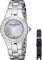 Baume & Mercier Women's BMMOA10072 Linea Analog Display Quartz Silver Watch