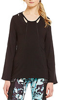 Nanette Lepore Play Active Cut Out Pullover