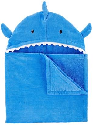 Carter's Baby Boy Shark Hooded Towel
