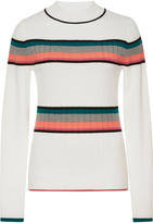Tome Long Sleeve Striped Turtleneck