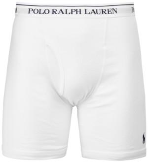 Polo Ralph Lauren Men's 3-Pk. Long Classic Boxer Briefs