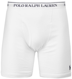 Polo Ralph Lauren Men's 3-Pk. Long Classic Boxer Briefs