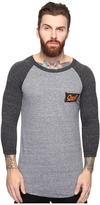 O'Neill The Bay Raglan Long Sleeve Screens Impression T-Shirt