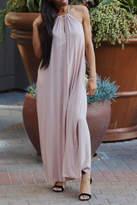 AAKAA Pink Maxi Dress