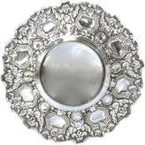 One Kings Lane Vintage Silver Repousse Fruit & Shield Bowl
