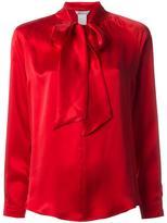 Max Mara Soraia pussy bow blouse