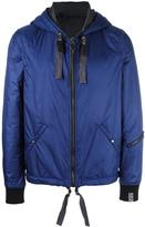 Lanvin nylon hooded jacket