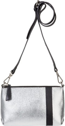 Nadia Minkoff Abstraction Pouch Silver