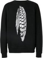 Marcelo Burlon County of Milan Puelce sweatshirt - men - Cotton/Polyester - XS