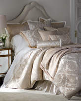 Isabella Collection Darby Standard Damask Sham with Cording