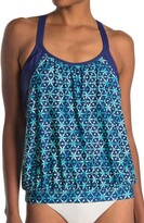 Thumbnail for your product : Next Jakarta Double Up Tankini Top