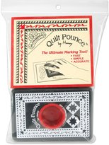 Hancy 4-Ounce Quilt Pounce Pad with Chalk Powder