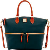 Dooney & Bourke Pebble Grain Large Pocket Satchel