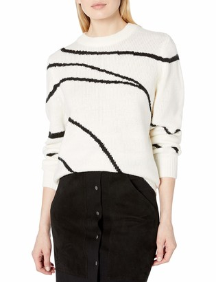 The Fifth Label Women's Out of Reach Abstract Pullover Sweater Knit