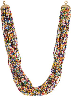 Linea by Louis Dell'Olio Multi-Strand Sprin kles Necklace