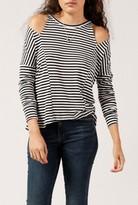LnA Striped Slice Top
