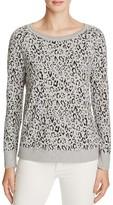 Soft Joie Annora Leopard Print Sweatshirt