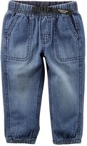 Carter's Baby Boy Denim Utility Pants