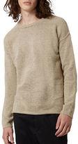 Topman Felted Split Hem Sweater