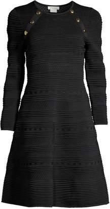 Shoshanna Charla Jacquard A-Line Dress