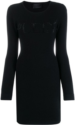 Philipp Plein fitted knit dress
