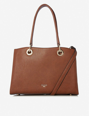 Dune Darys large faux-leather tote bag