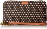 Fossil Emma Smartphone Wallet Rfid Wristlet