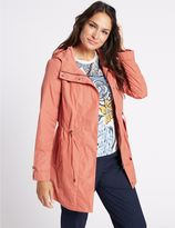 Marks and Spencer Fleece Parka with StormwearTM